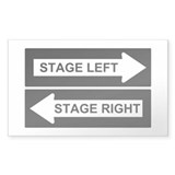 Stage Left Decal