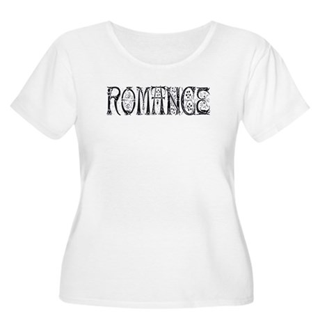 Romance Women's Plus Size Scoop Neck T-Shirt