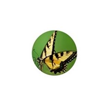 Eastern Tiger Swallowtail Butterfly Mini Button