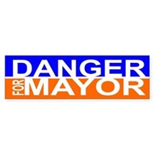 Carlos Danger for Mayor Car Sticker