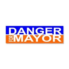 Carlos Danger for Mayor Car Magnet 10 x 3