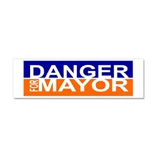Danger for Mayor Car Magnet 10 x 3