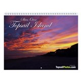 Skies Over Topsail Island Calendar