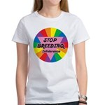 STOP BREEDING Intolerance Women's T-Shirt