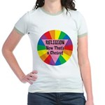 RELIGION CHOICE Jr. Ringer T-Shirt