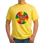 RELIGION CHOICE Yellow T-Shirt