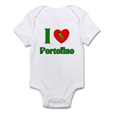 I love Portofino Italy Infant Bodysuit
