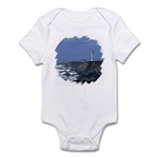 Lighthouse in Blue Infant Creeper