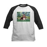 Lily Bridge Basset Kids Baseball Jersey
