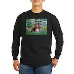 Lily Bridge Basset Long Sleeve Dark T-Shirt
