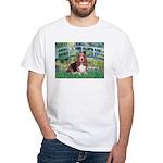 Lily Bridge Basset White T-Shirt