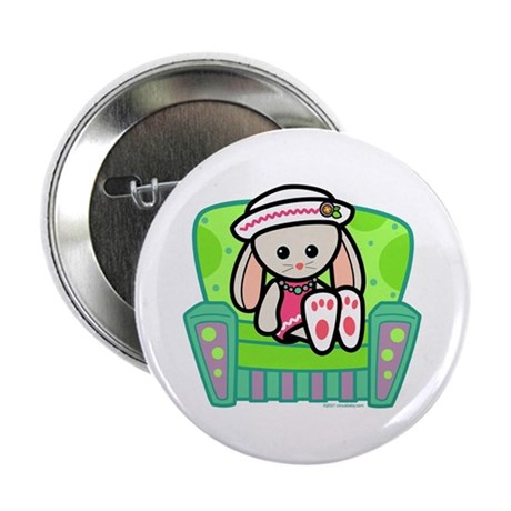 Little Bunny Girl Button