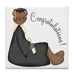 Congratulations Tile Coaster