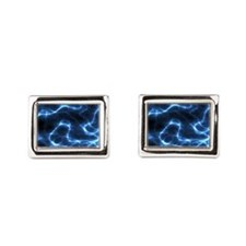 Electric Nebula 5 by 7 rug Cufflinks