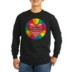 DON'T TOLERATE INTOLERENCE Long Sleeve Dark T-Shir