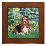 Lily Bridge Basset Framed Tile
