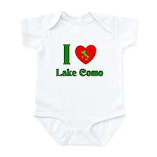 I Love Lake Como Italy Infant Bodysuit
