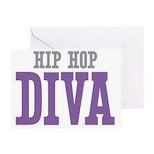 Hip Hop DIVA Greeting Card