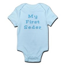 FIRST SEDER PASSOVER Infant Bodysuit