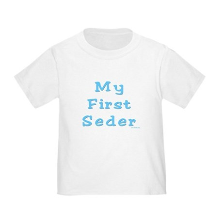 FIRST SEDER PASSOVER Toddler T-Shirt