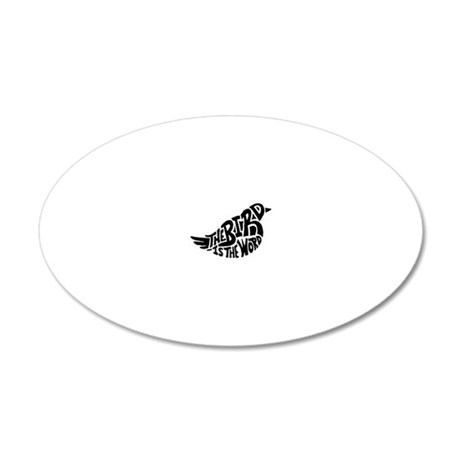 The Bird is the Word  Wall Decal
