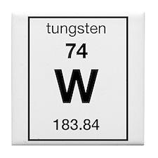 Tungsten Tile Coaster