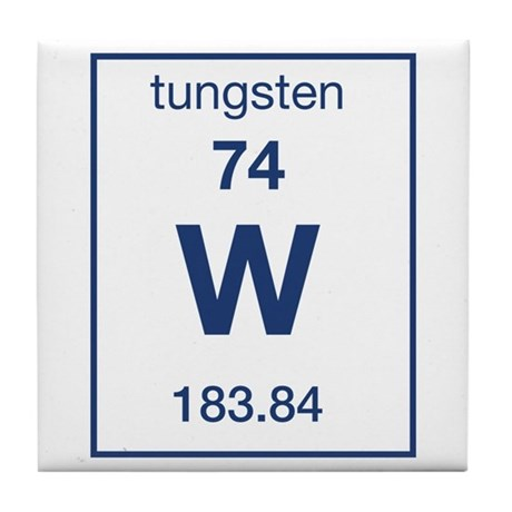 Tungsten Tile Coaster