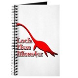 Loch Ness Monster Red Journal