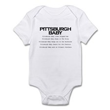 pittsburghbaby Body Suit
