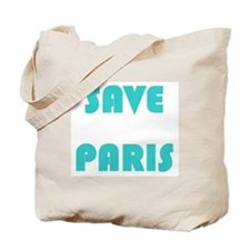 PARIS HILTON, SAVE PARIS Tote Bag