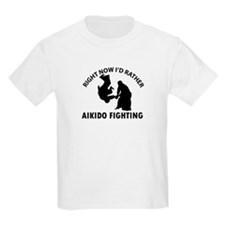 Aikido fighting designs T-Shirt