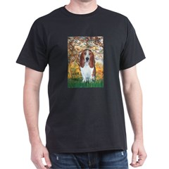 Monet's Spring & Basset T-Shirt