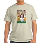 Monet's Spring & Basset Light T-Shirt