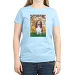 Monet's Spring & Basset Women's Light T-Shirt