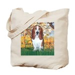 Monet's Spring & Basset Tote Bag