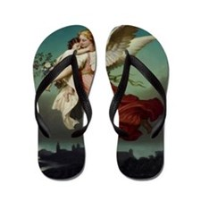 Guardian Angel Flip Flops