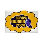 Barack Obama 2008 Rectangle Magnet