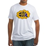 Clouds: Obama 2008 Fitted T-Shirt