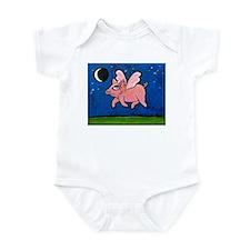 WHEN PIGS FLY Infant Bodysuit