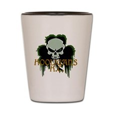 Hooligan Skull Shot Glass