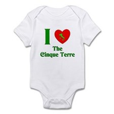 I Love the Cinque Terre Italy Infant Bodysuit