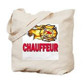 Fire Department Chauffeur Tote Bag