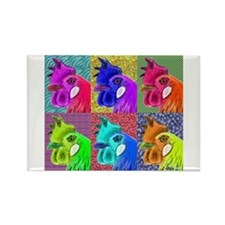 Hens Gone Wild! Rectangle Magnet (100 pack)