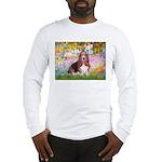 Basset in the Garden Long Sleeve T-Shirt