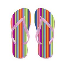Beach Stripes Flip Flops