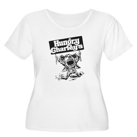 Chuck's Women's Plus Size Scoop Neck T-Shirt