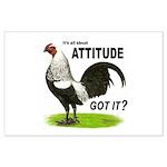 Got Attitude? Large Poster