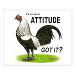 Got Attitude? Small Poster