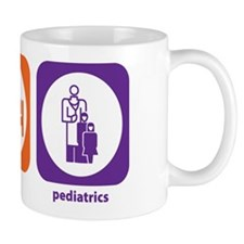 Eat Sleep Pediatrics Mug