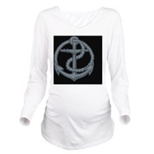 anchor3-BUT Long Sleeve Maternity T-Shirt